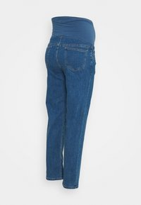 Cotton On - MATERNITY STRETCH OVER BELLY - Straight leg jeans - coogee blue - 1