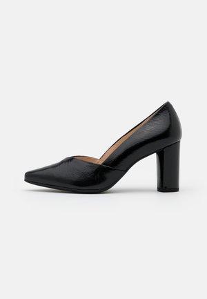 Klassiske pumps - schwarz
