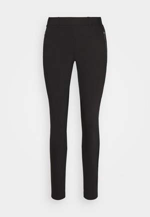 VERA LIVA - Trousers - black deep