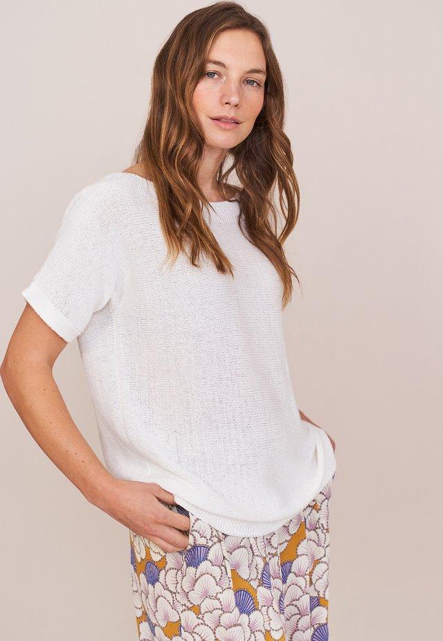 T-shirt basique - strahlend weiß