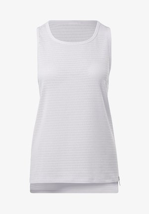 PERFORATED TANK TOP - Toppi - white