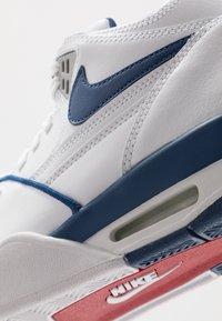 Nike Sportswear - AIR FLIGHT 89 - Vysoké tenisky - white/dark royal blue/varsity red - 8