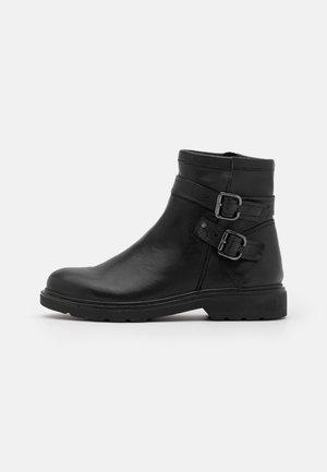 BOOTS - Cowboy-/Bikerlaarsjes - black