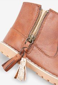 Next - TAN TASSEL  - Baby shoes - brown - 3