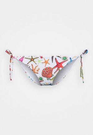 BOTTOMS - Braguita de bikini - bianco/multicolor