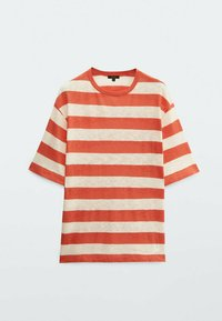 Massimo Dutti - Print T-shirt - red - 1