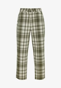 Object Tall - OBJUMA PANT - Kalhoty - burnt olive/gardenia - 5