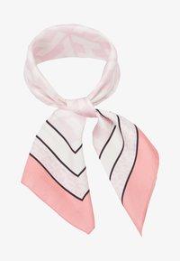 MONOGRAM FRAME SQUARE - Foulard - pink
