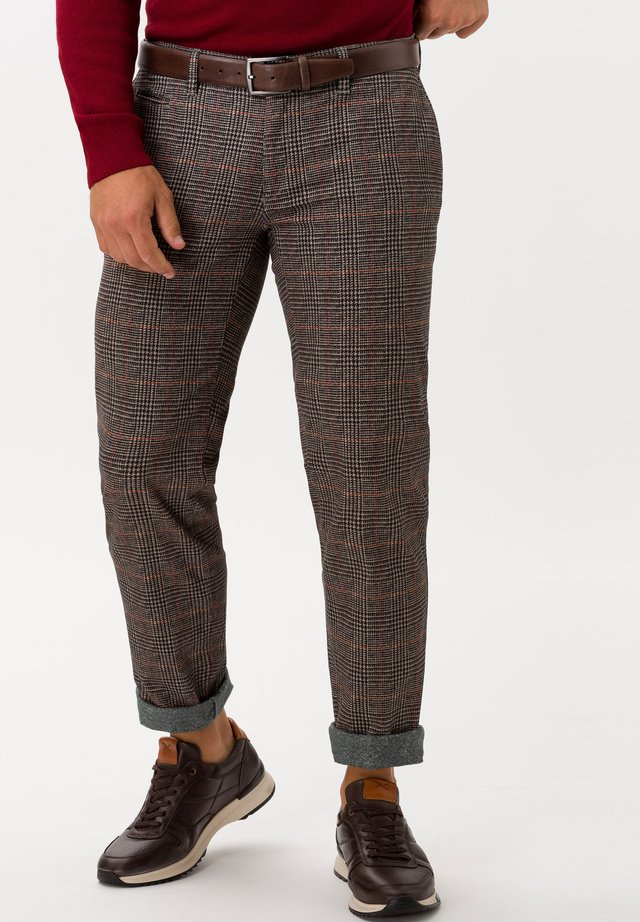 STYLE FABIO IN - Suit trousers - light brown