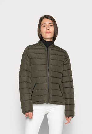 MIAMY QUILTED JACKET - Light jacket - grape leaf