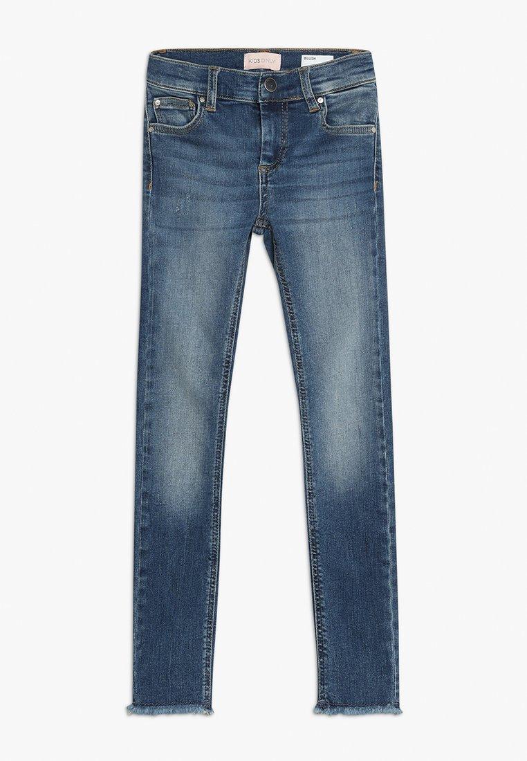 Kids ONLY - Jeans Skinny Fit - medium blue denim