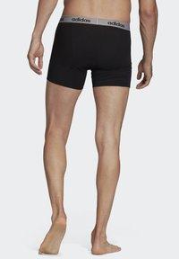 adidas Performance - BRIEFS 3 PAIRS - Panties - black - 1