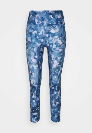 SIDE POCKET ANKLE PANT - Leggings - multicoloured