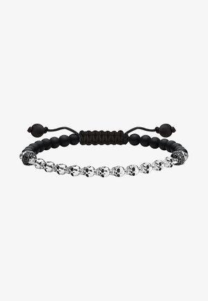 TOTENKÖPFE  - Bracciale - silver-coloured, black