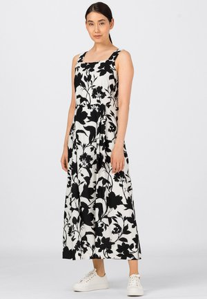 Day dress - black, white