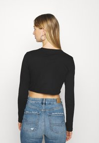NEW girl ORDER - BUTTERFLY MINI - Long sleeved top - charcoal - 2