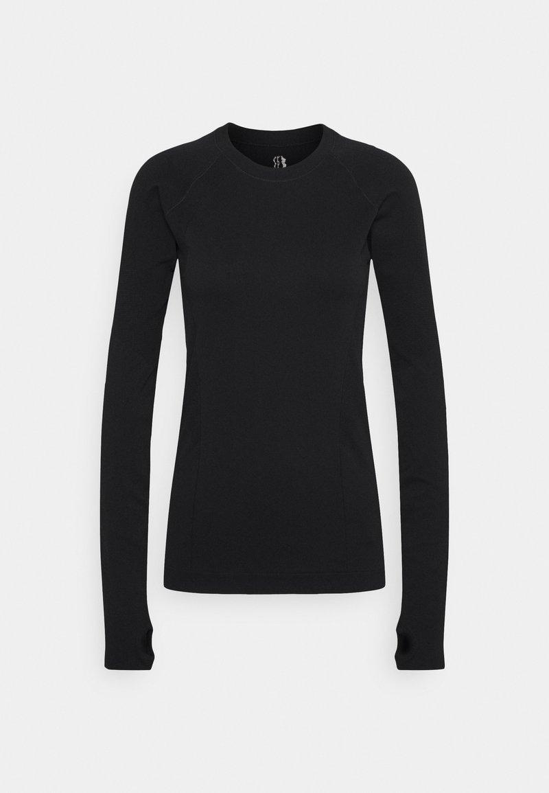 Sweaty Betty - ATHLETE SEAMLESS WORKOUT - T-shirt sportiva - black
