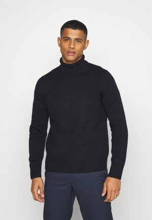 TURTLENECK JUMPER - Jumper - blue medium