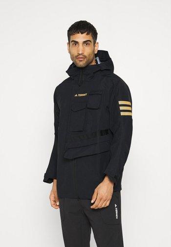 XPLORIC TECHNICAL RAIN.RDY HIKING JACKET - Outdoor jacket - black/black