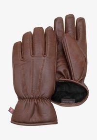 Pearlwood - Gloves - brandy - 0