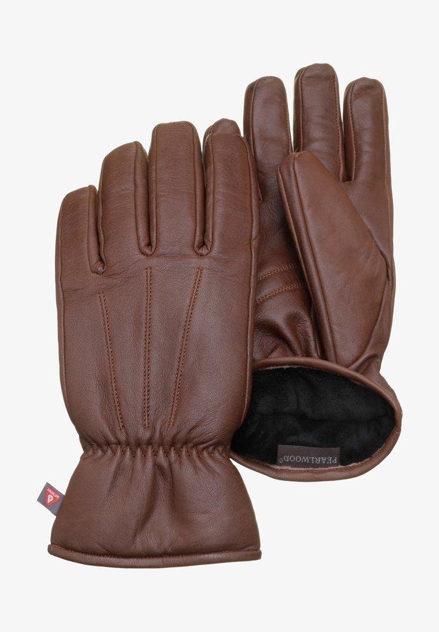 Gloves - brandy