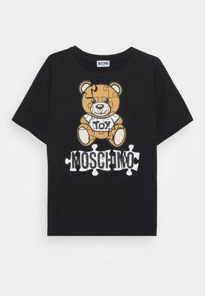MAXI UNISEX - T-shirt imprimé - black