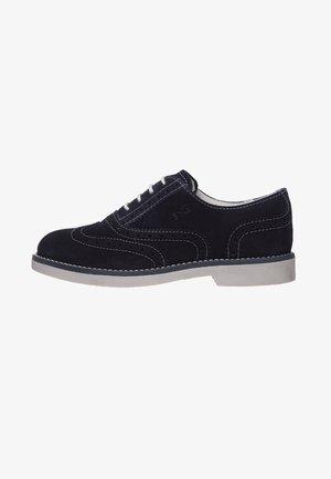 Šněrovací boty - blu