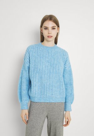 YOUNG LADIES KNITTED SWEATER - Jumper - blue
