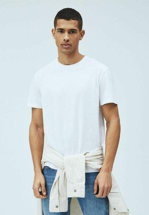 JIM - Jednoduché triko - blanco