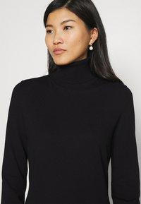 Marc O'Polo - DRESS TURTLE NECK - Jumper dress - black - 5