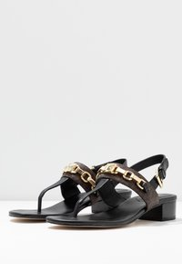 MICHAEL Michael Kors - CHARLTON - T-bar sandals - black/brown - 4