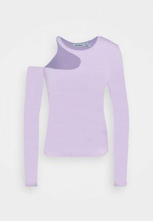 AMBRIA LONG SLEEVE - T-shirt à manches longues - lilac