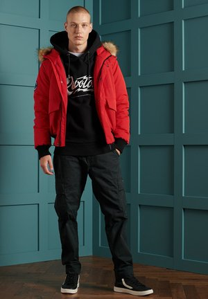 EVEREST - Winter jacket - high risk red