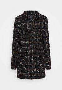 Barbara Lebek - Classic coat - fancy black/hazelnut - 0