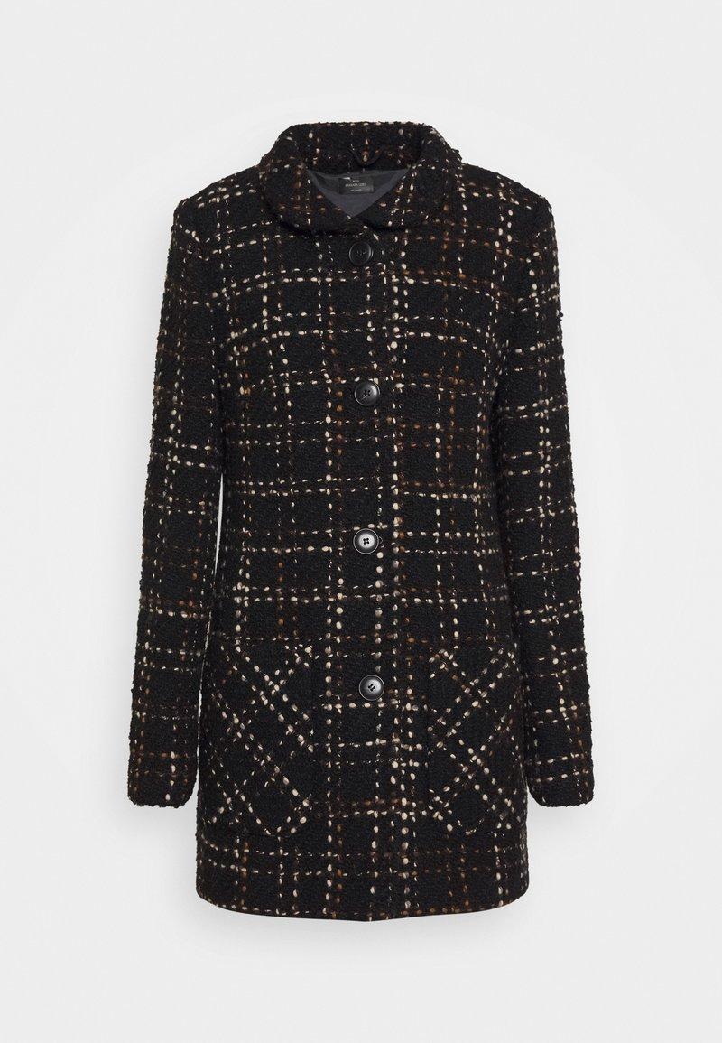Barbara Lebek - Classic coat - fancy black/hazelnut