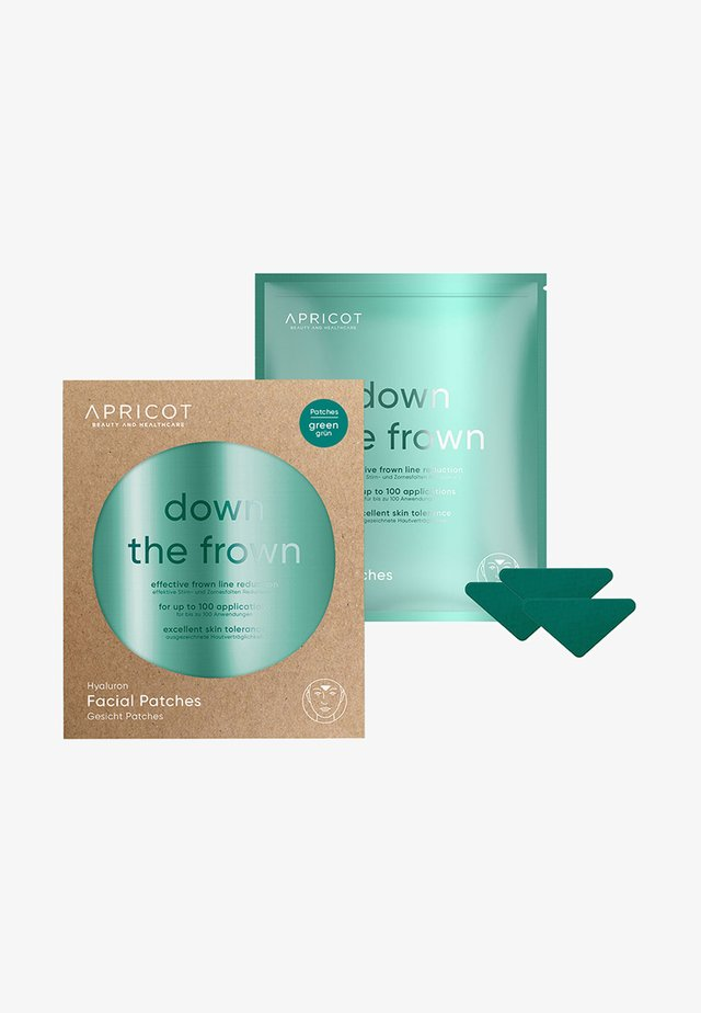 FACIAL PATCHES WITH HYALURON - Anti-Aging - -