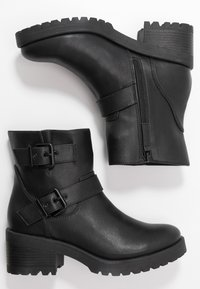 Madden Girl - LAURREL - Cowboy/biker ankle boot - black - 3