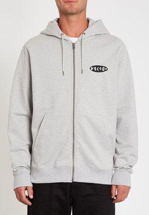 SUPPLY STONE ZIP - Zip-up sweatshirt - heather grey