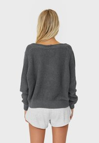 Stradivarius - Cardigan - dark grey - 3