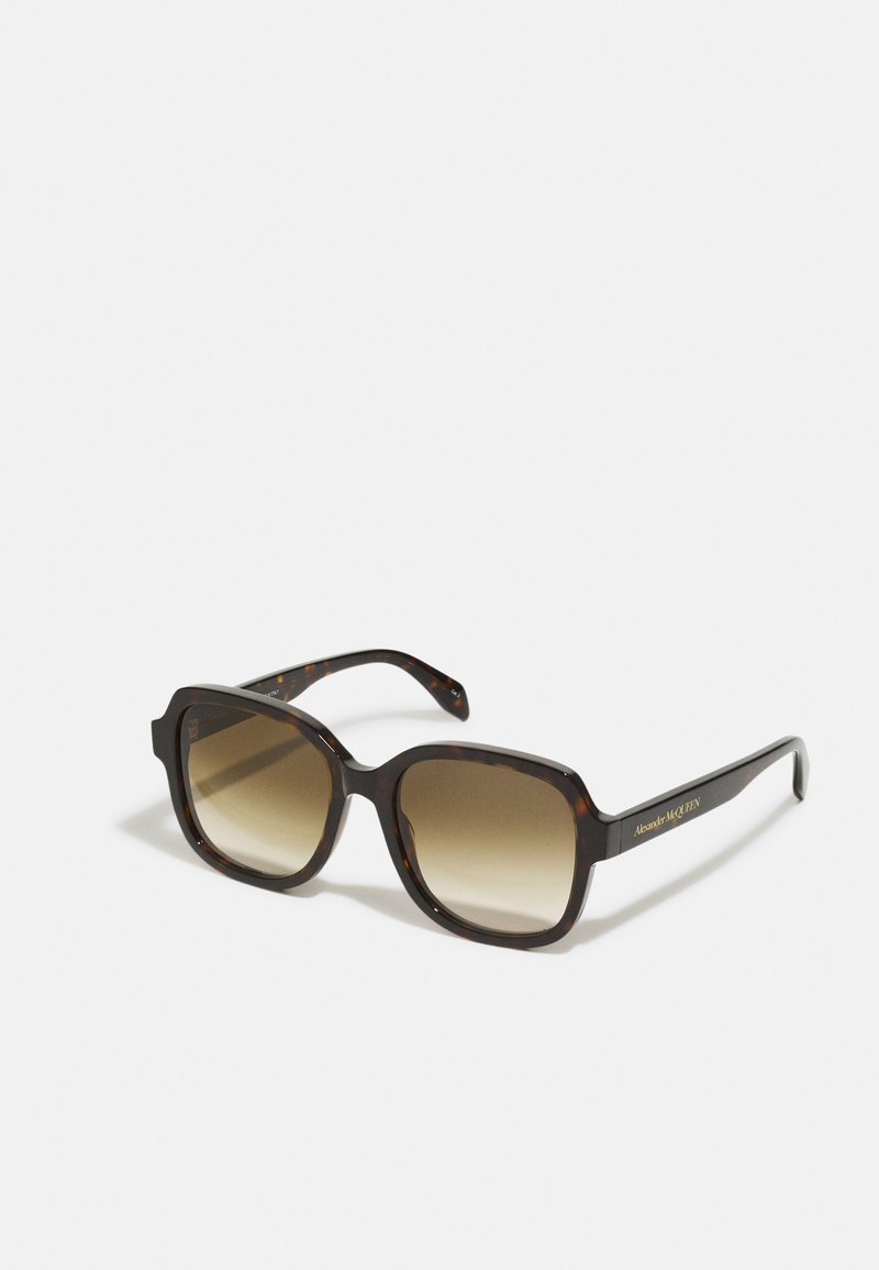 Alexander McQueen - Sunglasses - havana/brown