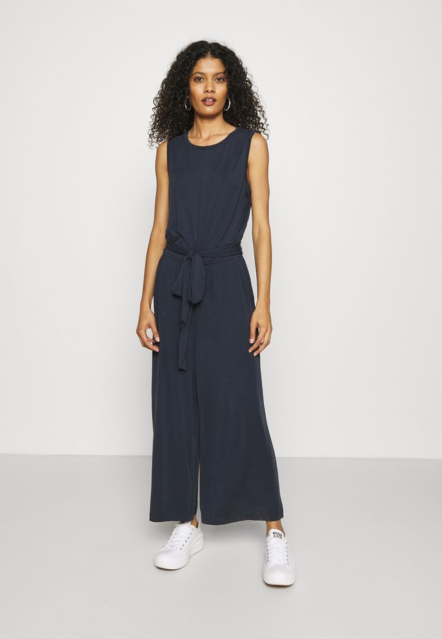 CROPPED SANDWASH  - Tuta jumpsuit - preppy navy