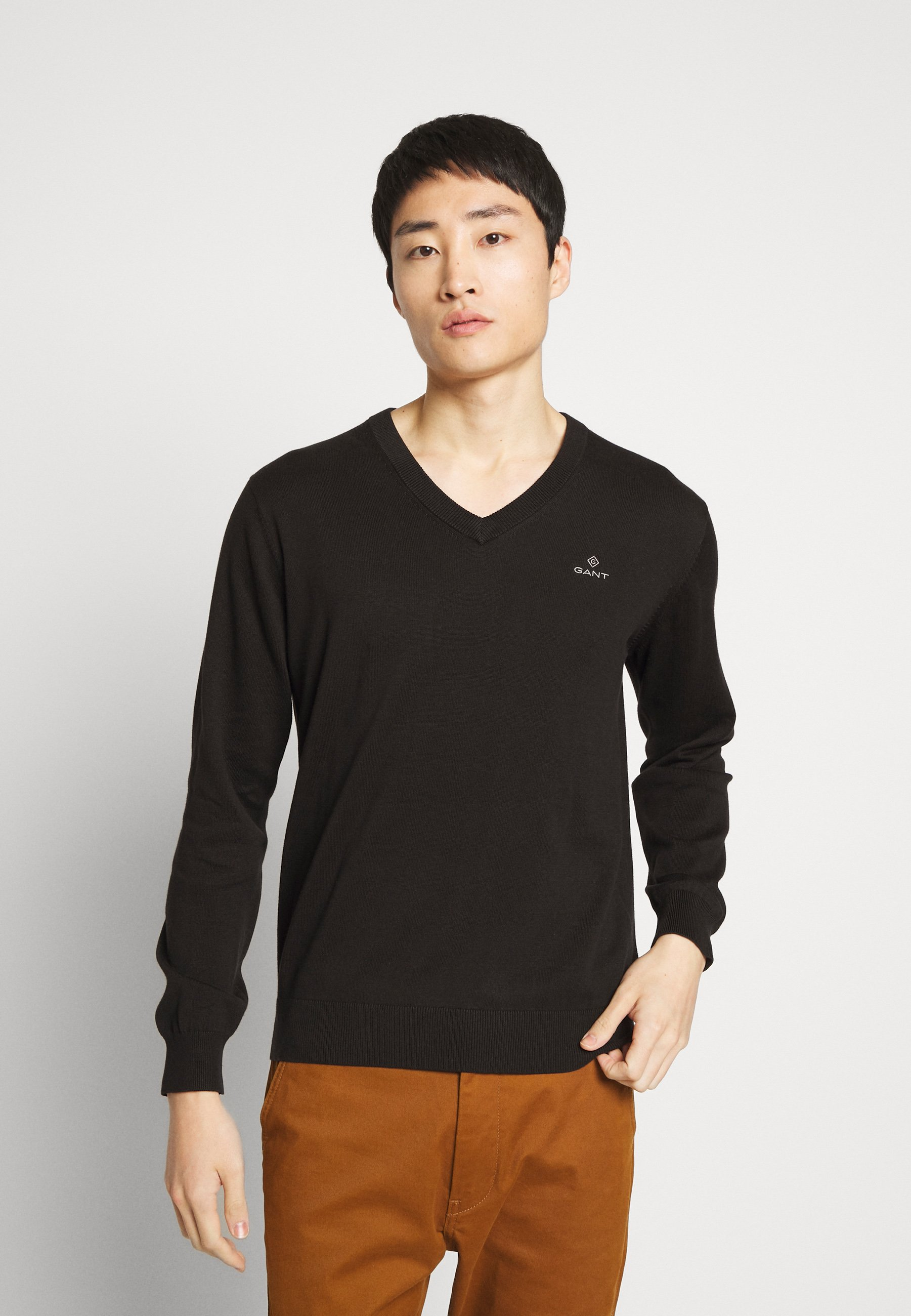 Homme CLASSIC COTTON V-NECK - Pullover