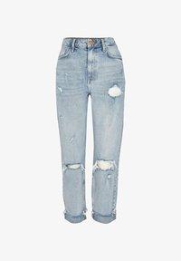 River Island - SCULPT - Slim fit jeans - blue - 4