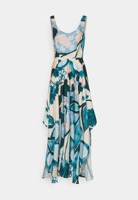 Esprit Collection - PRINT DRESS - Maxi dress - cream beige - 0