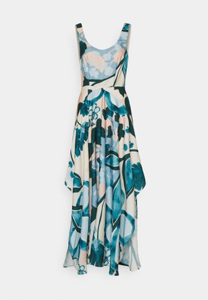 PRINT DRESS - Maxi dress - cream beige