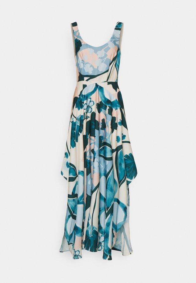 PRINT DRESS - Maxi-jurk - cream beige