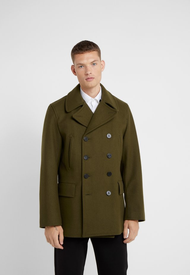 CHURCHILL REEFER - Short coat - loden