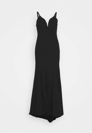 STRAPPY DRESS - Ballkleid - black