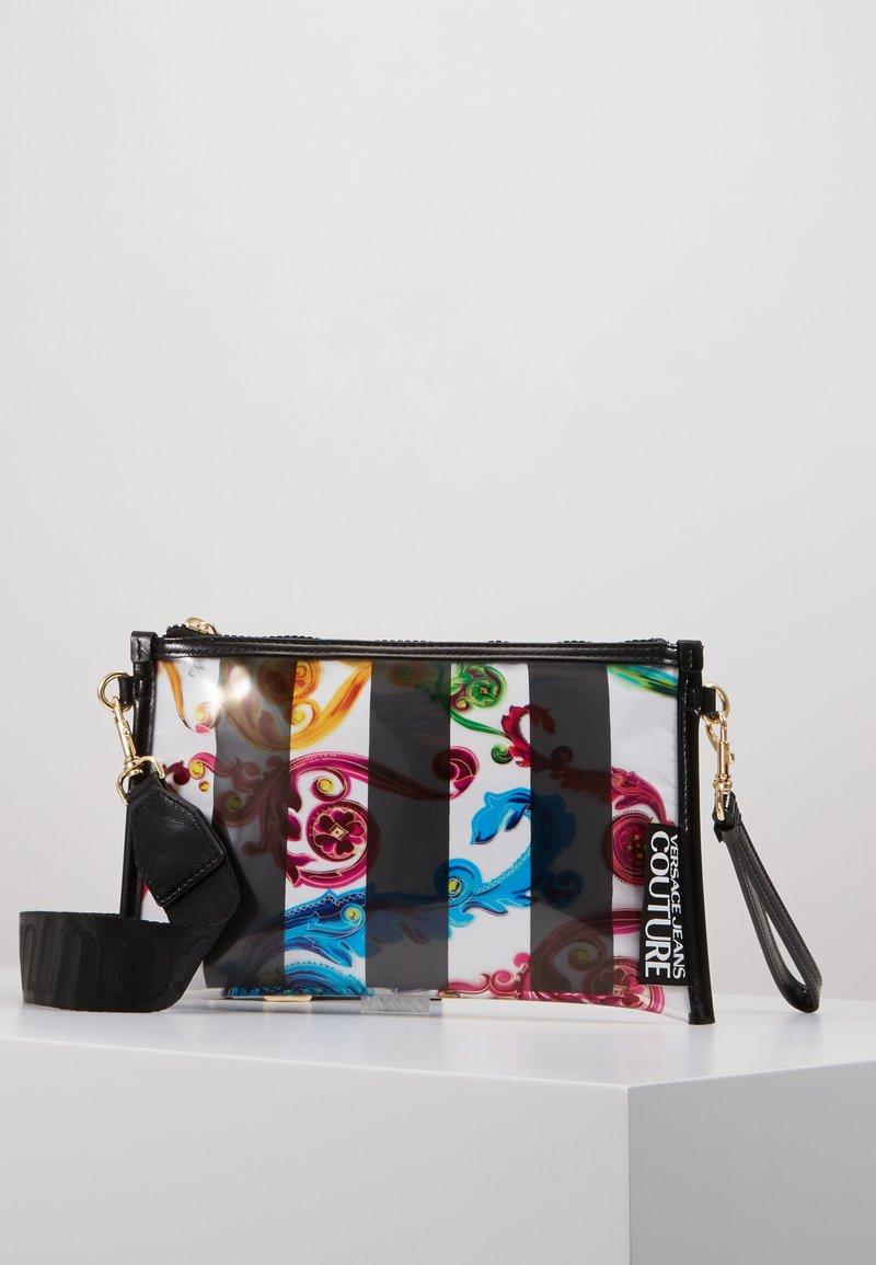 Versace Jeans Couture - TRANSPARENT MED POUCH STRAP - Clutch - multicolour