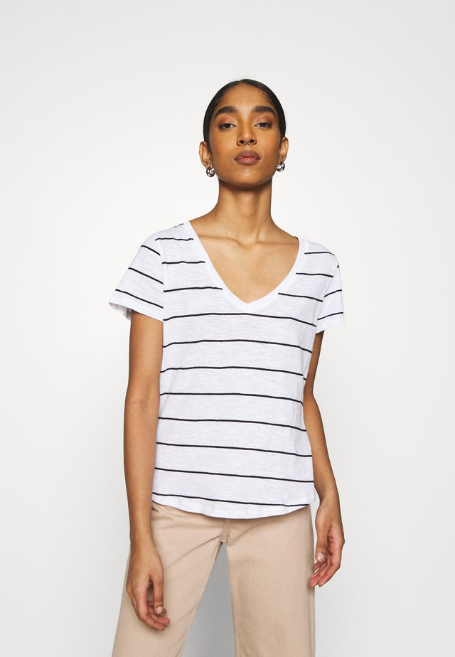 THE DEEP  - T-shirt z nadrukiem - maggie black base